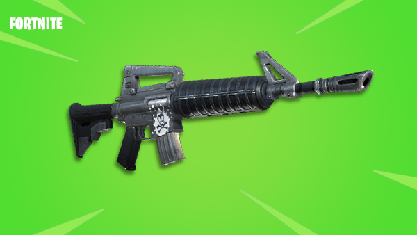 with the assault rifle the scar and the silenced assault rifle you re going to get the same sort of bloom kickback it s actually less with the silenced - fortnite golden scar green ar