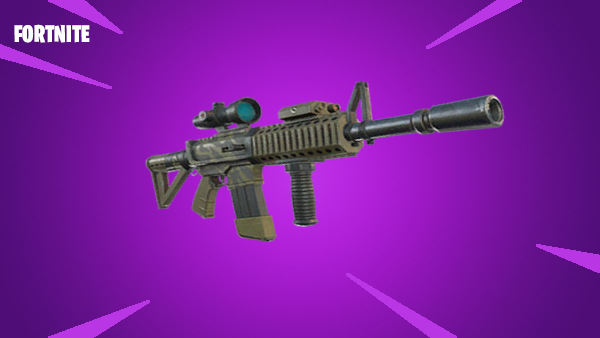 while it may not be the best assault rifle in the game it serves a purpose more so than the scoped assault rifle with the addition of the thermal scope - fortnite thermal