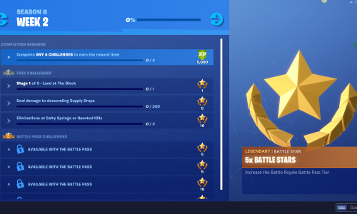 Fortnite Season 8 Week 2 Challenges And How To Complete Them