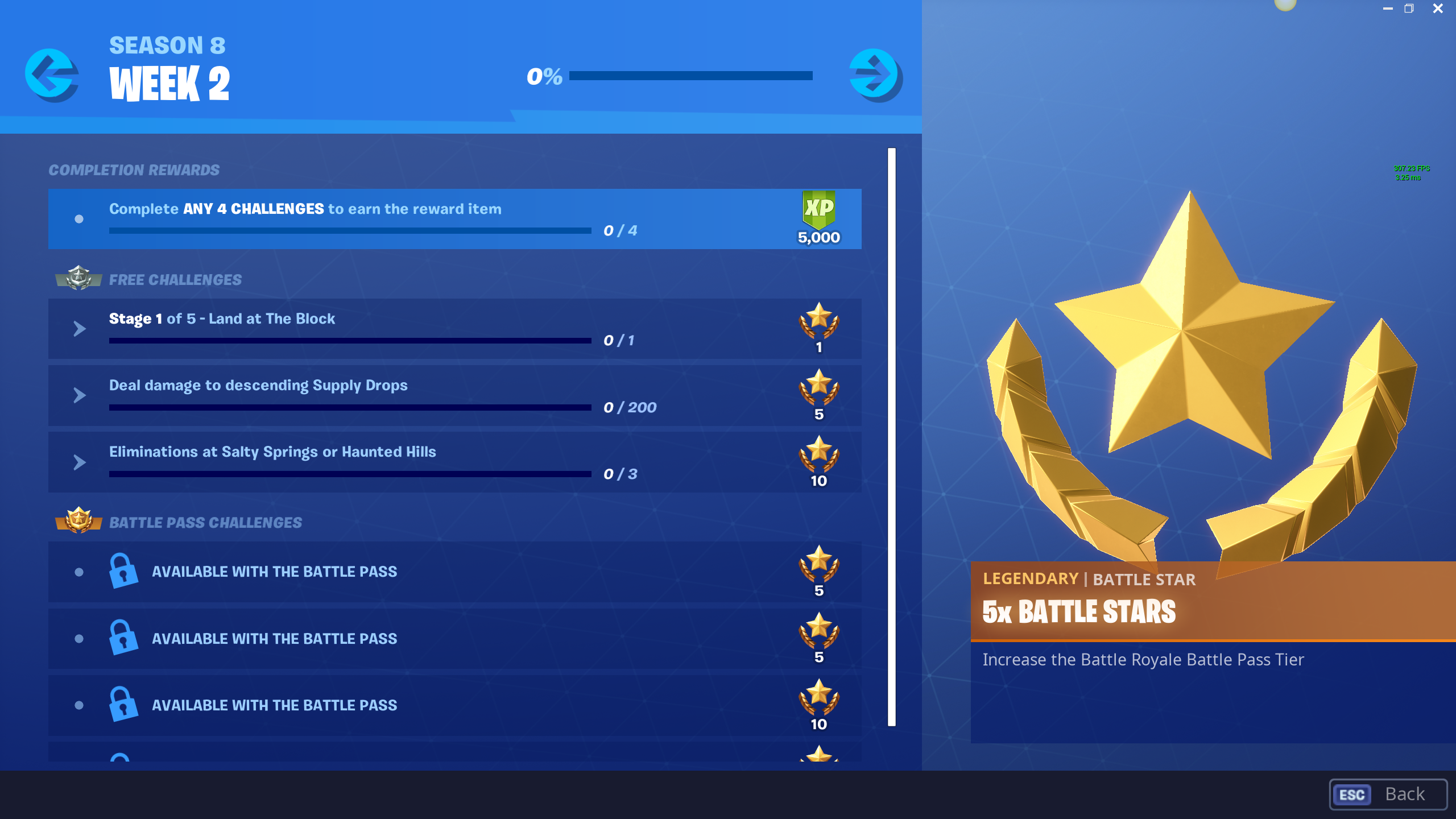 fortnite season 8 week 2 challenges and how to complete them - fortnite pc keybinds season 8