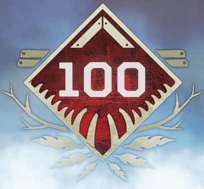 Wild Frontier Level 100 Badge