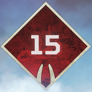 Wild Frontier Level 15 Badge
