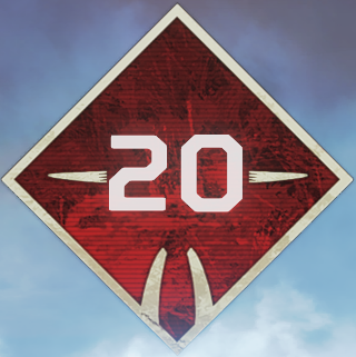 Wild Frontier Level 20 Badge
