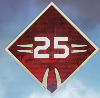 Wild Frontier Level 25 Badge