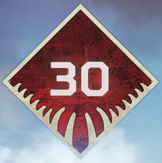 Wild Frontier Level 30 Badge