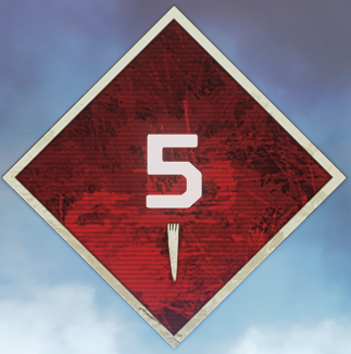 Wild Frontier Level 5 Badge