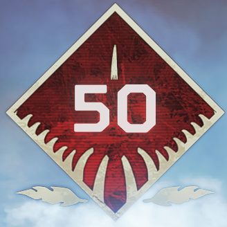 Wild Frontier Level 50 Badge