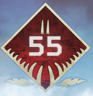 Wild Frontier Level 55 Badge