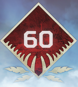 Wild Frontier Level 60 Badge