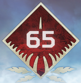 Wild Frontier Level 65 Badge