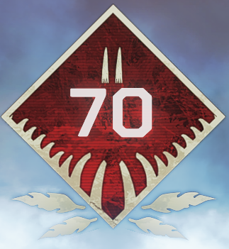Wild Frontier Level 70 Badge
