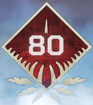 Wild Frontier Level 80 Badge