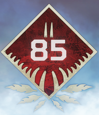 Wild Frontier Level 85 Badge