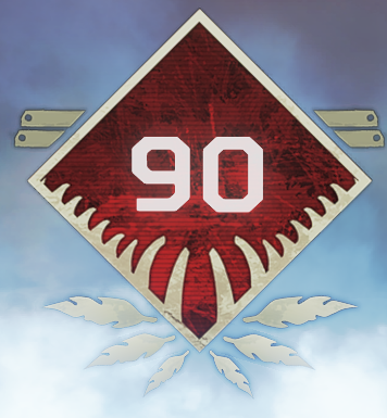 Wild Frontier Level 90 Badge