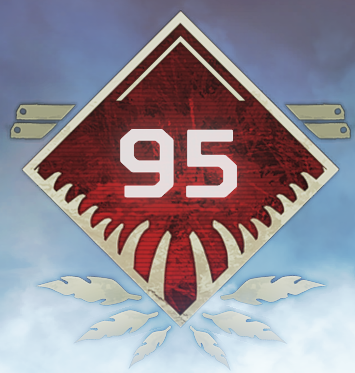 Wild Frontier Level 95 Badge