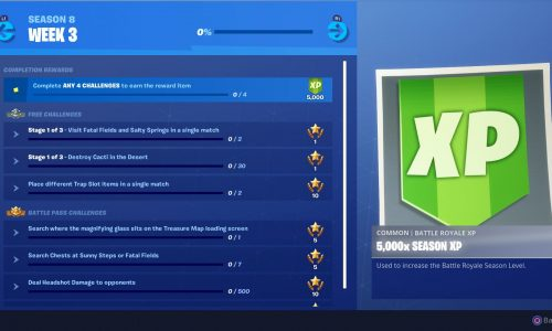 Fortnite Season 8 Week 3 Challenges And How To Complete Them