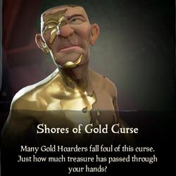 Shores of Gold Curse