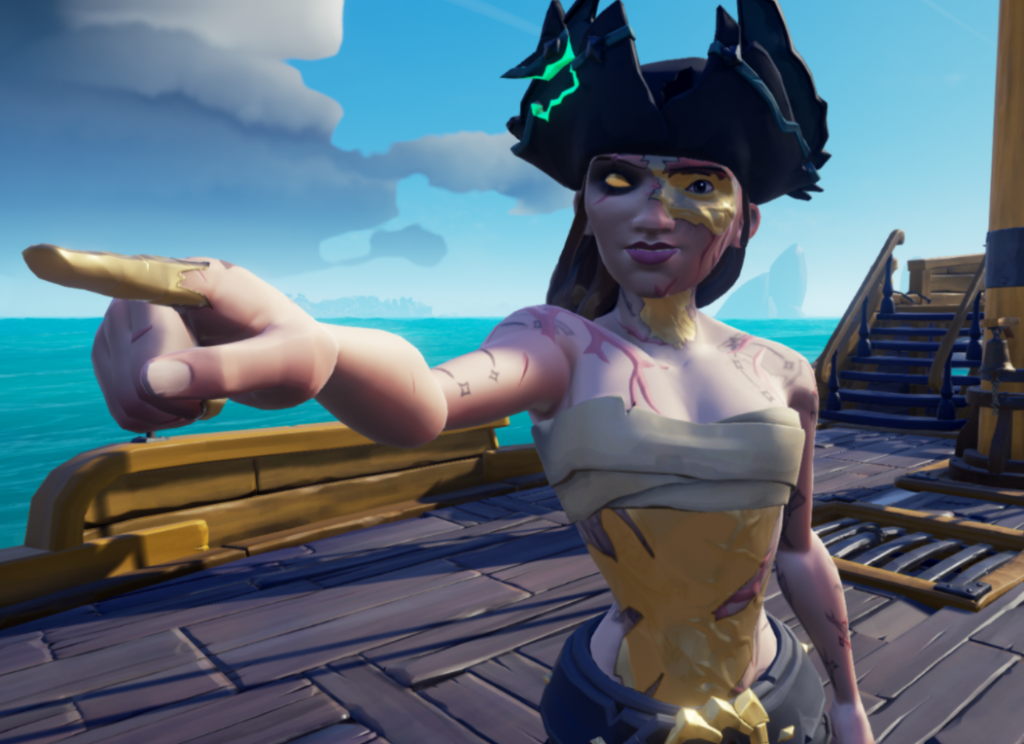 Sea of Thieves - Shore of Gold Curse