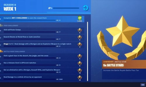 Fortnite Season 8 Challenges And How To Complete Them